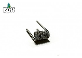 Staggered Fused Clapton 0.13 oHm