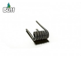 Staggered Fused Clapton 0.25 oHm